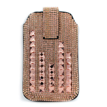 UCCP-0041 - WHOLESALE RHINESTONE CRYSTAL CELLPHONE CASES/POUCHES