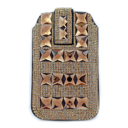 UCCP-0582 - WHOLESALE RHINESTONE CRYSTAL CELLPHONE CASES/POUCHES