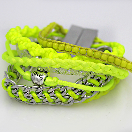 BOHO-100182 - WHOLESALE CROSS STRETCH BRACELETS