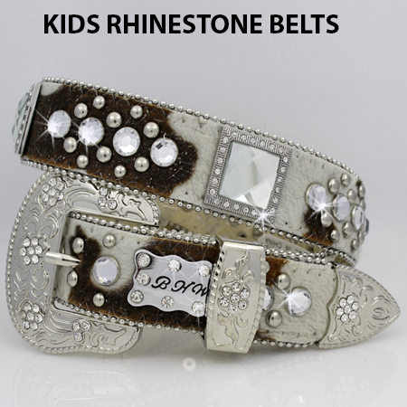 1147--COW - BHW BRAND KIDS WESTERN BELTS