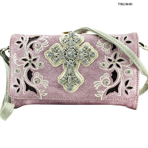 HIPSTER STYLE CROSS WALLETS - WHOLESALE WESTERN WALLETS HIPSTER CROSS BODY STYLE