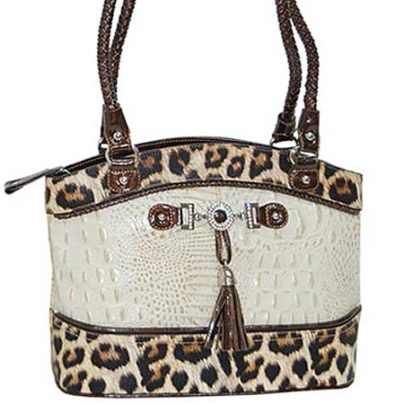 3021-BONE - WHOLESALE ALL GENUINE DESIGNER LEATHER HANDBAGS