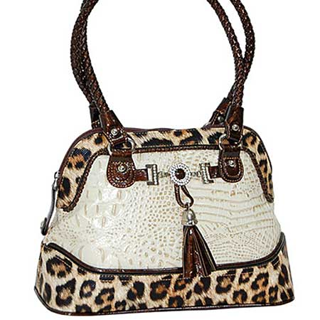 3023-BONE - WHOLESALE ALL GENUINE DESIGNER LEATHER HANDBAGS