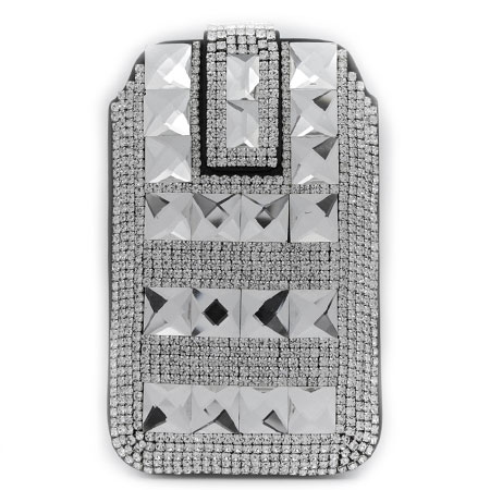 UCCP-502-CL - WHOLESALE RHINESTONE CRYSTAL CELLPHONE CASES/POUCHES