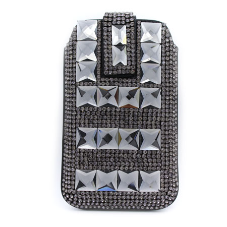 UCCP-504 - WHOLESALE RHINESTONE CRYSTAL CELLPHONE CASES/POUCHES
