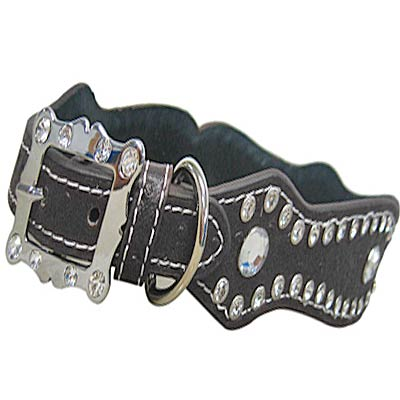 506BK-M/L - WHOLESALE RHINESTONE DOG COLLARS