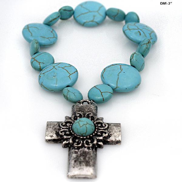 Magnetic jewelry wholesale western theme jewelry rhinestone 710106 wholesale western turquoise stretch bracelets aloadofball Choice Image