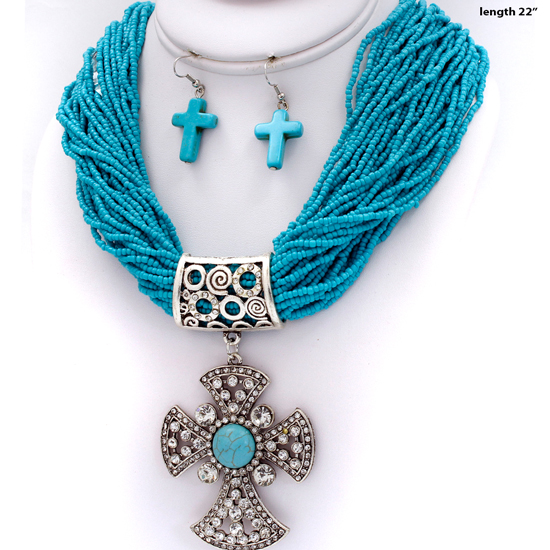 730035-TURQ - WHOLESALE WESTERN TURQUOISE JEWELRY
