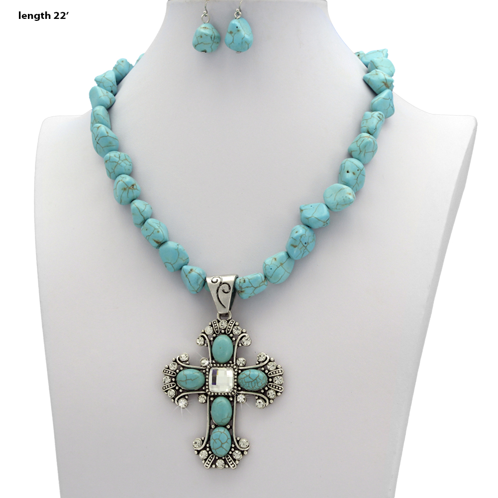 bead necklaces wholesale rhinestone western jewelry
