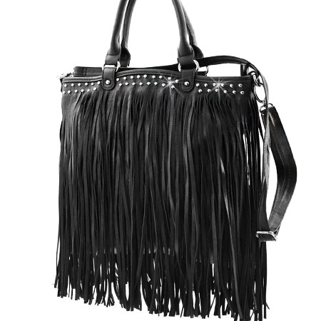 936F-BLACK - WHOLESALE DESIGNER INSPIRED HANDBAGS