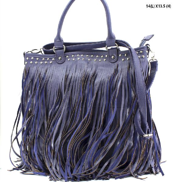 963F--PURPLE - WHOLESALE DESIGNER INSPIRED HANDBAGS