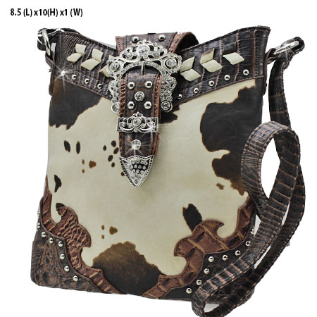 ACO3-4699-BROWN - WHOLESALE WESTERN HANDBAGS