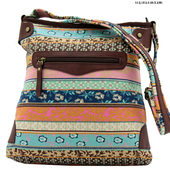 ANQ-61466-RB3 - NEW DESIGNER INSPIRED BOHEMIAN CHIC PURSES