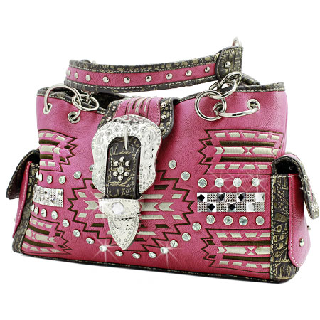 AZT-893-HTPK - WHOLESALE WESTERN PURSES