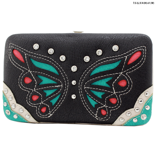 BFU4-3000-BLACK - WHOLESALE WESTERN WALLETS