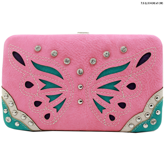 BFU4-3000-PINK - WHOLESALE WESTERN WALLETS