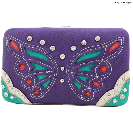 BFU4-3000-PURPLE - WHOLESALE WESTERN WALLETS