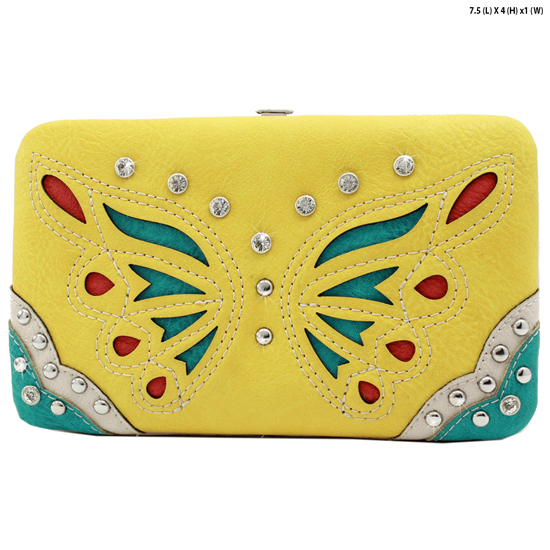 BFU4-3000-SUNFLOWER - WHOLESALE WESTERN WALLETS