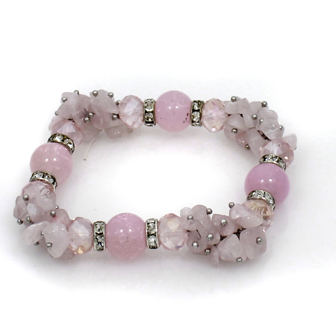 BRS01-PINK - BRS01-PINK FASHION JEWELRY BRACELETS