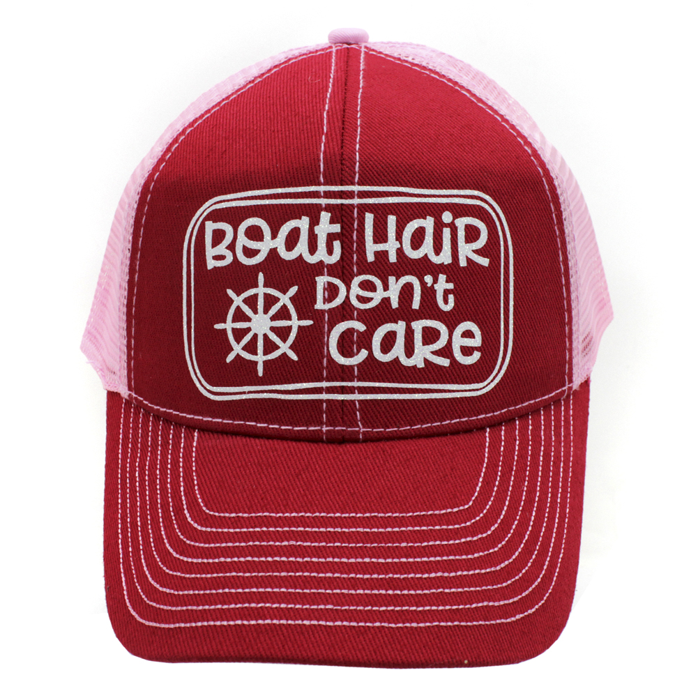 BOATHAIRDONTCARE-RED