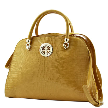 CPE-004-YEL - WHOLESALE DESIGNER INSPIRED HANDBAGS