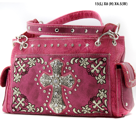 FC-893-HTPK - WHOLESALE WESTERN CROSS PURSES