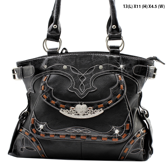 JKO-627-BLACK - WHOLESALE DESIGNER HANDBAGS
