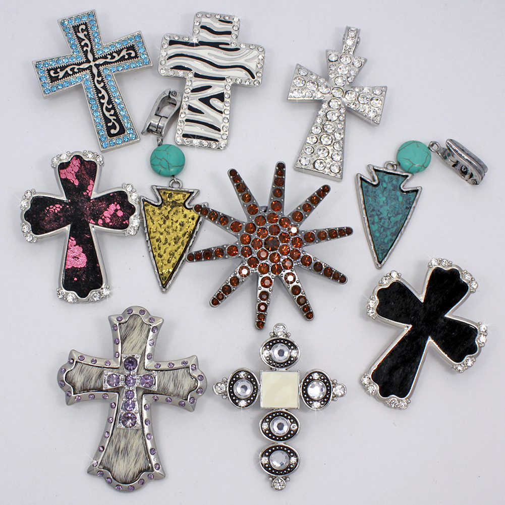 PNDT-10PCS-9 - PNDT-10PCS-9 WHOLESALE WESTERN JEWELRY PENDANTS