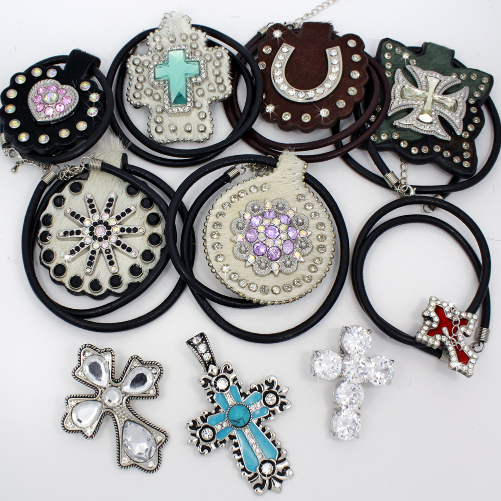 PNDT-10PCS-16 - PNDT-10PCS-16 WHOLESALE WESTERN JEWELRY PENDANTS