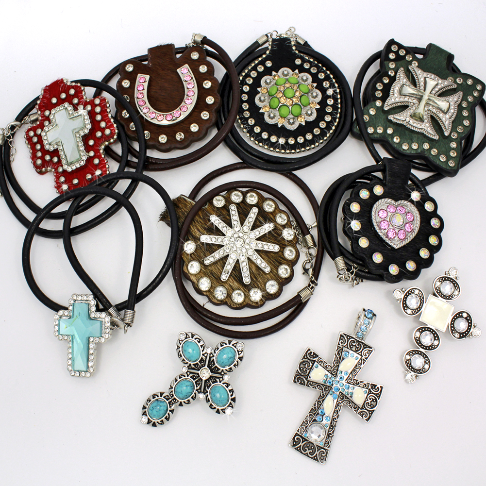 PNDT-10PCS-17 - PNDT-10PCS-17 WHOLESALE WESTERN JEWELRY PENDANTS