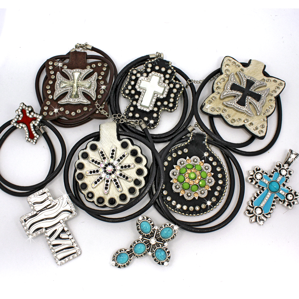 PNDT-10PCS-19 - PNDT-10PCS-19 WHOLESALE WESTERN JEWELRY PENDANTS