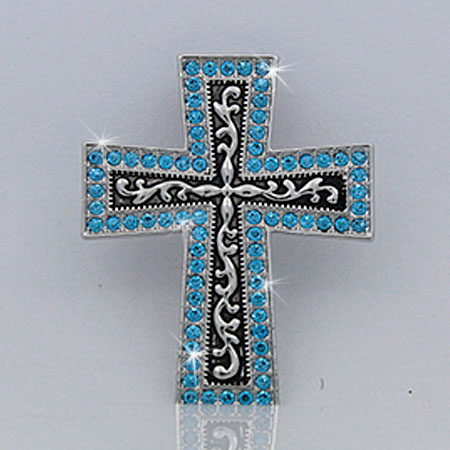 Wholesale western rhinestone crystal pendant pndt 514 turq for Wholesale cowgirl bling jewelry
