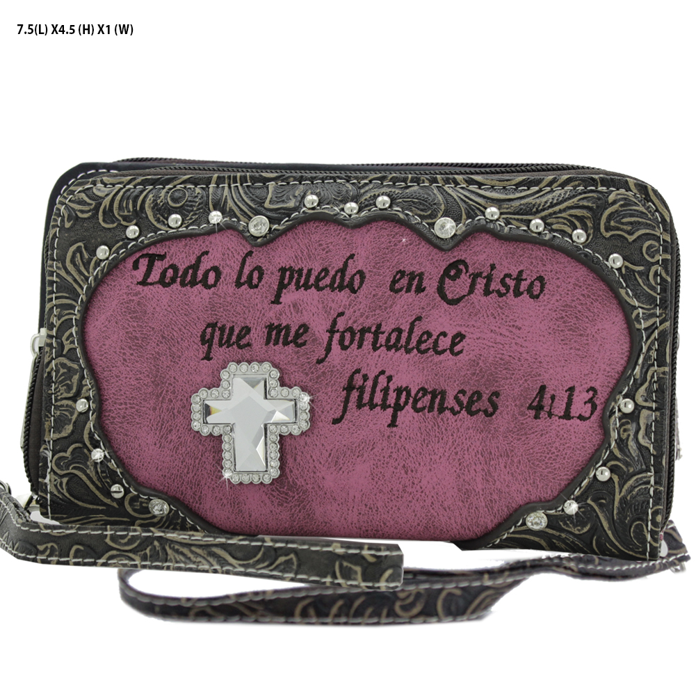 Spanish Bible Verse Wallets
