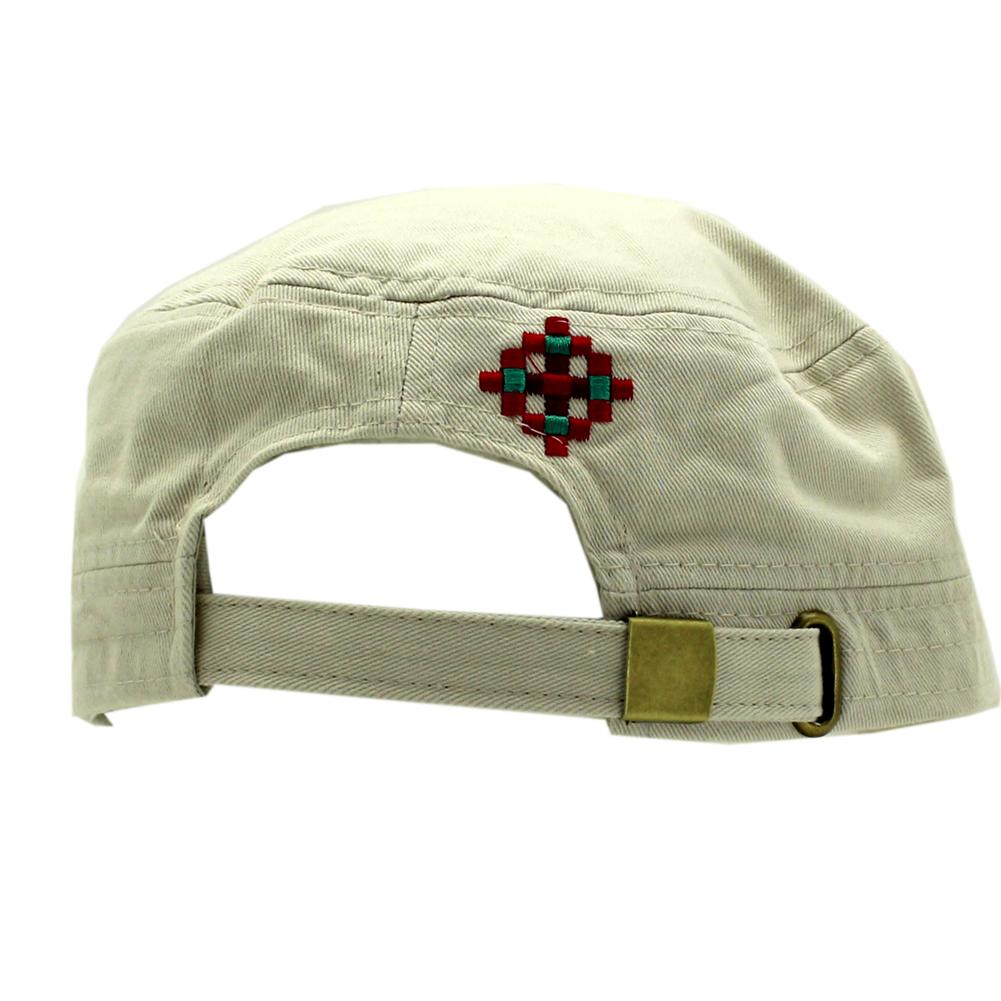CAD-CRO-63-STN - CAD-CRO-63-STN Rhinestone Studded Cross Caps Cadet Style Caps