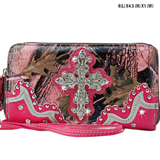 WHA-238-PK/PK - WHOLESALE WOMENS WRISTLETS-WALLETS