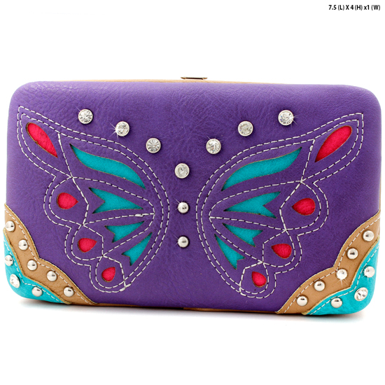 BFU3-3000-PURPLE - WHOLESALE WESTERN WALLETS