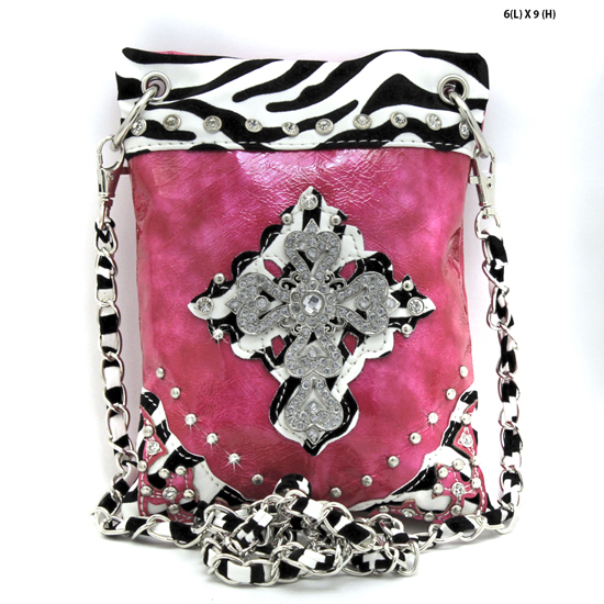 BHW76-RAFZ-PINK - WHOLESALE RHINESTONE CRYSTAL CELLPHONE CASES/POUCHES