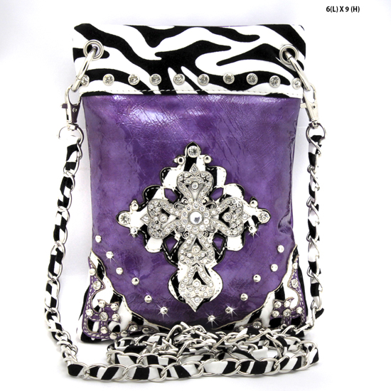 BHW76-RAFZ-PURPLE - WHOLESALE RHINESTONE CRYSTAL CELLPHONE CASES/POUCHES