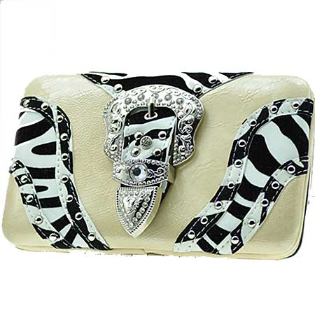 BKLE-RAFZ-305-CHAMP - RHINESTONE BLING WALLETS