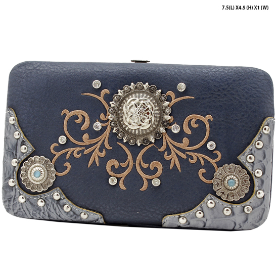 CAO-4326-CHARCOAL - WHOLESALE WESTERN WALLETS