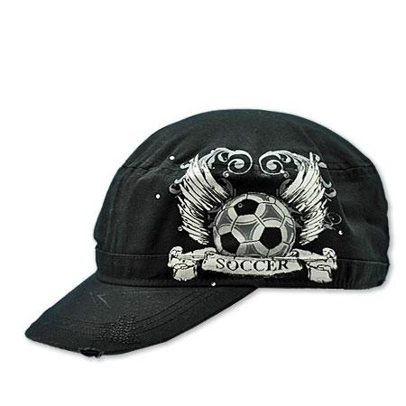 CAD-TAT-SOCCER - WHOLESALE RHINESTONE CADET CAPS/HATS