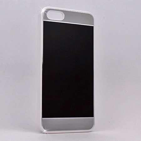 I5C-MTL-BLACK - WHOLESALE IPHONE 5, IPHONE 5S, IPHONE 5C CASES & COVERS