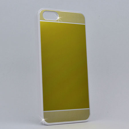 I5C-MTL-GOLD - WHOLESALE IPHONE 5, IPHONE 5S, IPHONE 5C CASES & COVERS