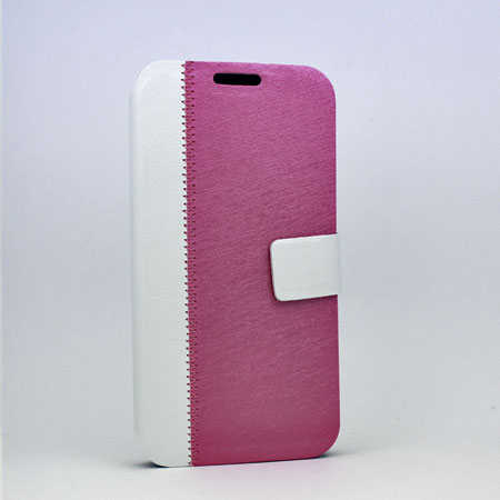 S4-WALLET-PK/WHITE - WHOLESALE SAMSUNG GALAXY S4 CASES & COVERS