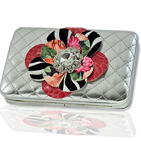 F2004-SILVER - DESIGNER INSPIRED WALLETS