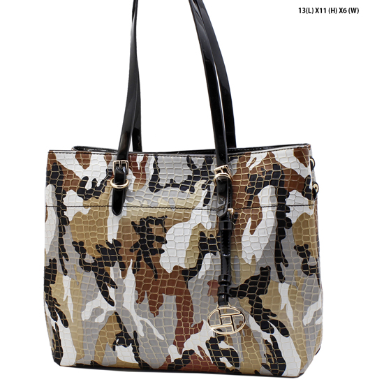 L-0104-BROWN - DESIGNER INSPIRED BACKPACK STYLE BAGS