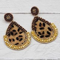 3351-HIDE-LEO-EARRINGS
