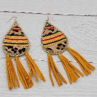 3780-TAN-LEO-EARRINGS