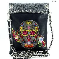 SUGAR SKULL PHONE BAG