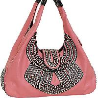 4436-BERRY - WHOLESALE  DESIGNER HANDBAGS